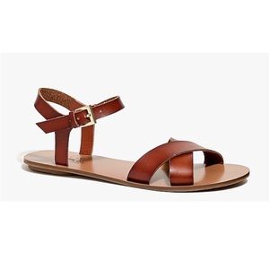J. Crew Crisscross Ankle-Strap Sandals